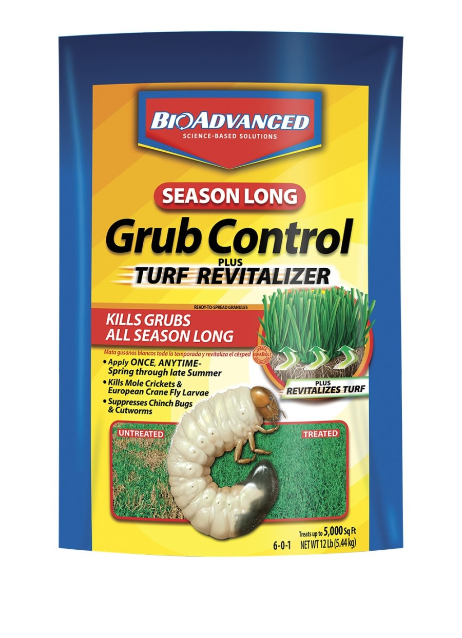 BioAdvanced Season Long Grub Control Plus Turf Revitalizer Granules 6-0-1 1ea/12 lb