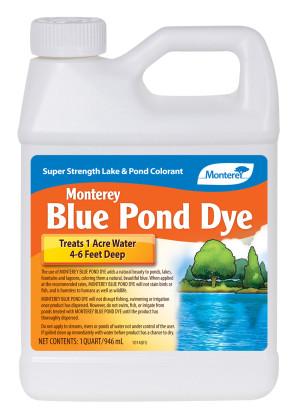 Monterey Pond Dye Lake & Pond Colorant Concentrate Blue 12ea/32 oz