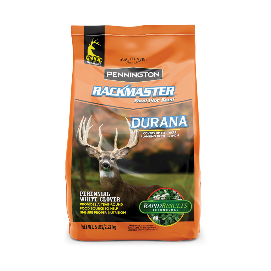Pennington Rackmaster Durana Food Plot Seed Mix 6ea/5 lb