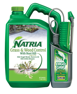 BioAdvanced Natria Grass & Weed Control Green Bottle Ergo Grip 4ea/1.3 gal