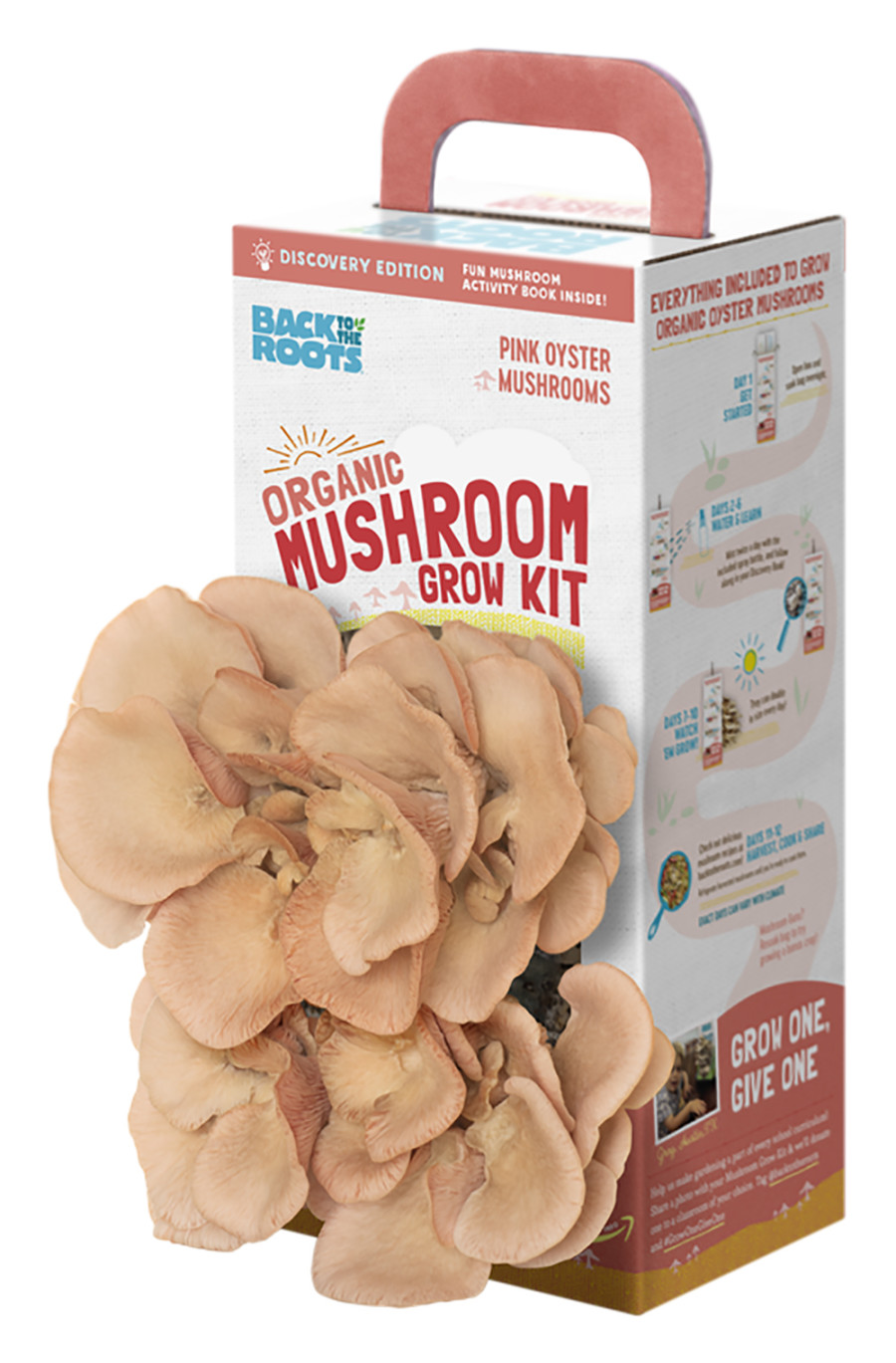 Back to the Roots Organic Mushroom Grow Kit Pink 18ea