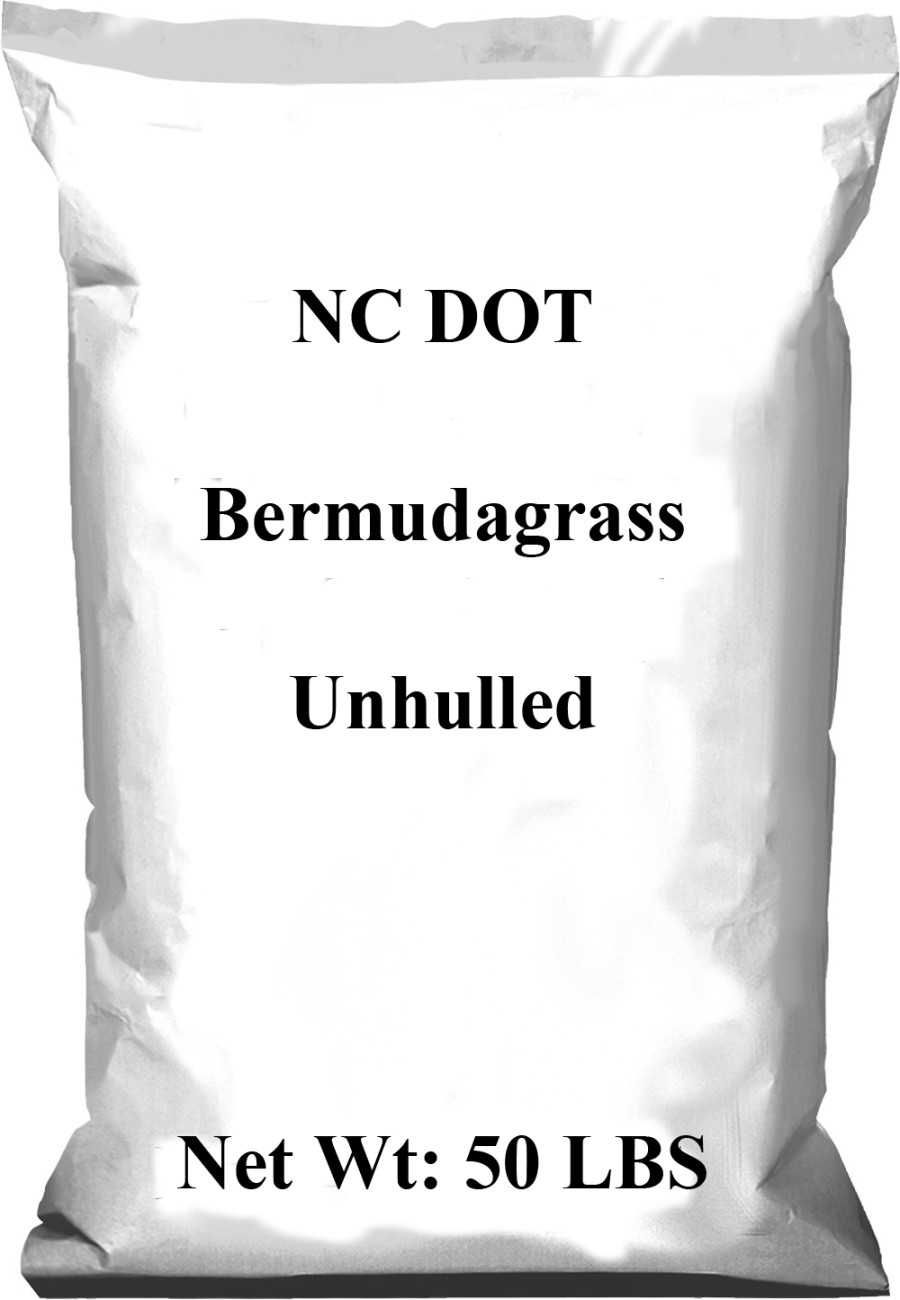Pennington NC DOT Bermudagrass Seed Unhulled 1ea/50 lb