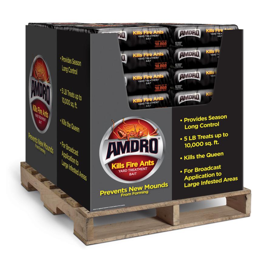 Amdro Yard Treatment Bait Kills Fire Ants Granules Pallet 1ea/5 lb