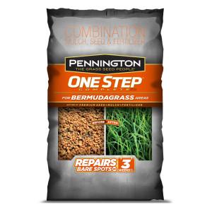 Pennington One Step Complete Bermudagrass Seed, Mulch, Fertilizer Premium Seed 1ea/30 lb
