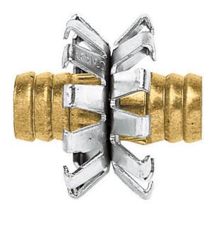 Gilmour Heavy Duty Clinch Repair 5/8in Brass Hose Mender Multi-Color 10ea/1.5 In X 1.63 In X 4.5 in