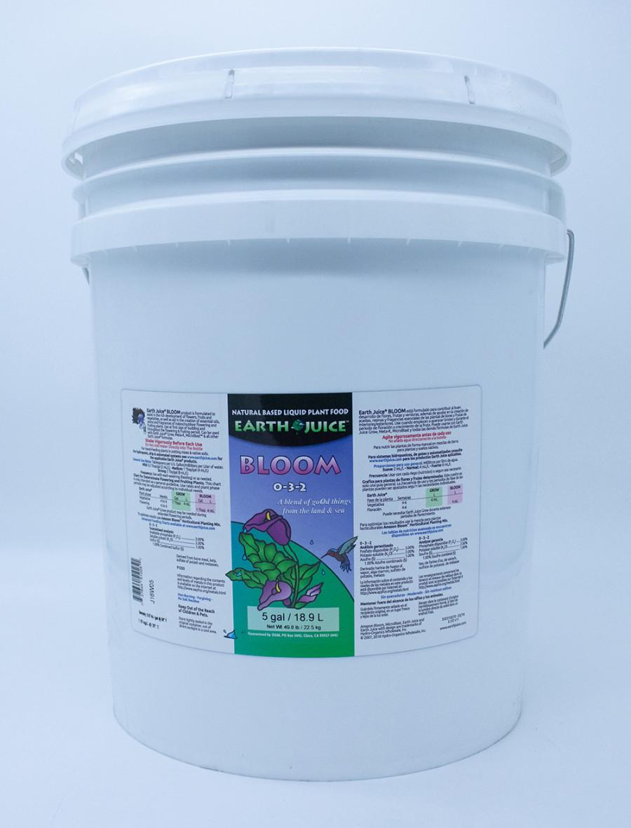 Earth Juice Bloom 0-3-2 Plant Food 1ea/5 gal