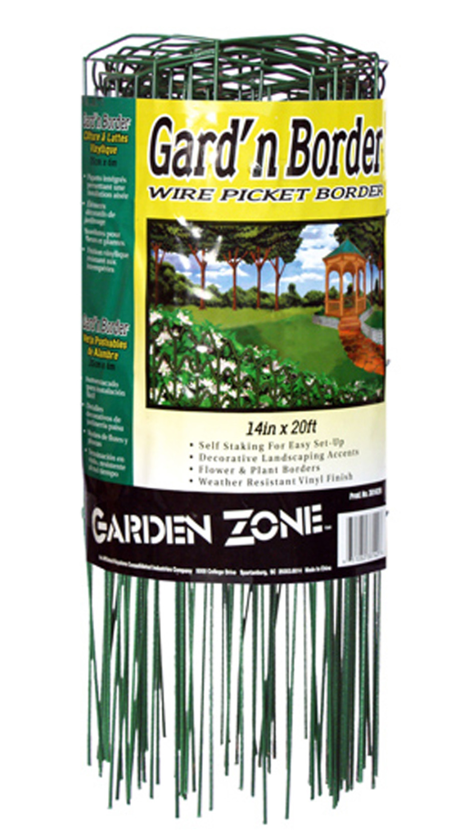 Garden Zone Gard'n Border Wire Picket Border