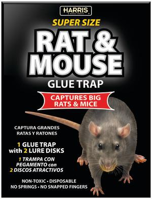 Harris Rat & Mouse Glue Trap 24ea/Single pk