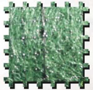 Erosion Tech ET-X1 Erosion Control Blanket Excelsior Single-Net Green 1ea/4Ftx180 ft