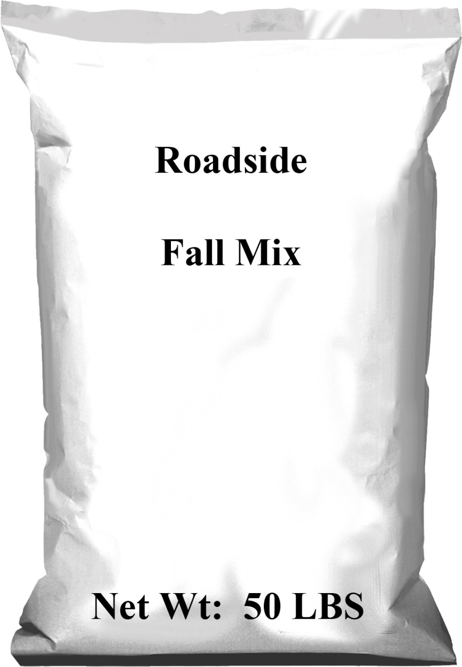 Pennington Roadside Fall Mix 1ea/50 lb