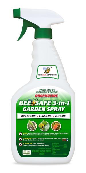 Organocide Bee Safe 3-in-1 Garden Spray Ready to Use 6ea/24 fl oz
