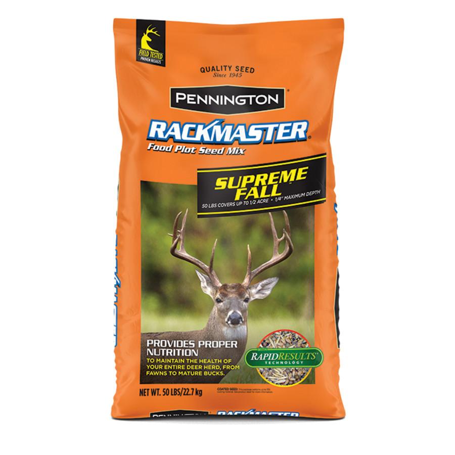 Pennington Rackmaster Supreme Fall Grass Seed Mix 1ea/50 lb