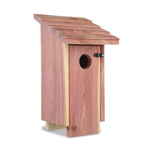 Pennington Cedar Bluebird House Red 2ea/6.75L X 6.5W X13H