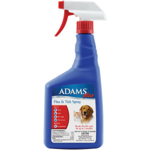 Adams Plus Flea & Tick Spray 12ea/32 fl oz