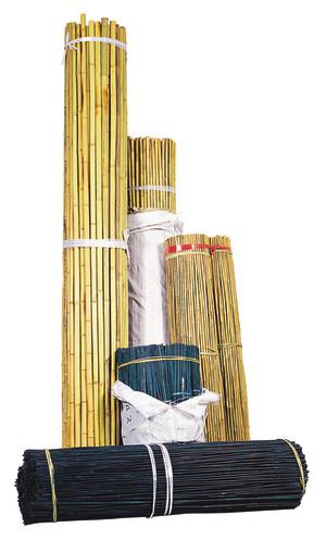Bond Natural Bamboo Stake Bulk Brown 500ea/5Ftx3/8 in