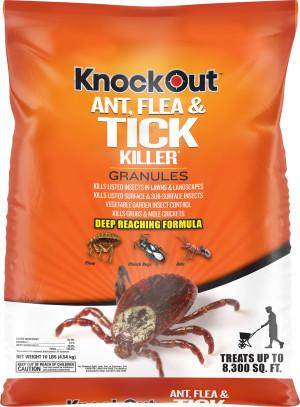 Knockout Ant, Flea & Tick Killer Granules 60ea/10 lb