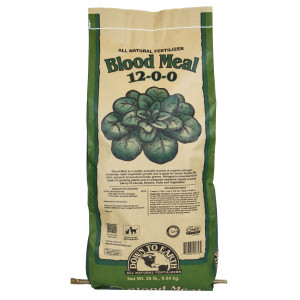 Down To Earth Blood Meal Natural Fertilizer 12-0-0 OMRI 1ea/20 lb