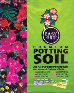 Easy Gro Premium Potting Soil Fortified With Fertilizer 60ea/40 qt