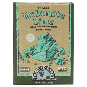 Down To Earth Dolomite Lime 6ea/5 lb
