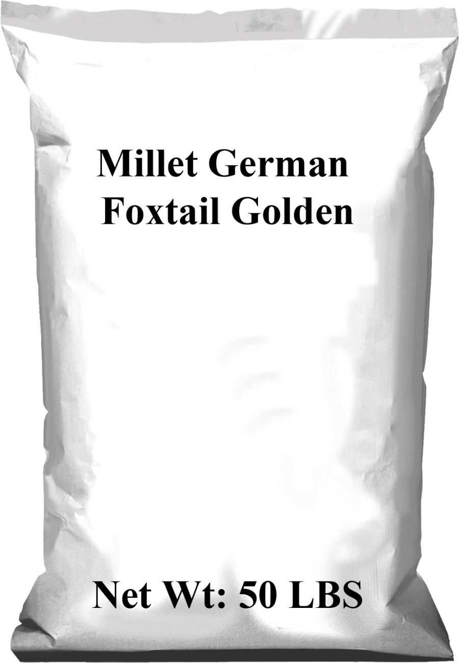 Pennington Millet German Foxtail Golden 1ea/50 lb