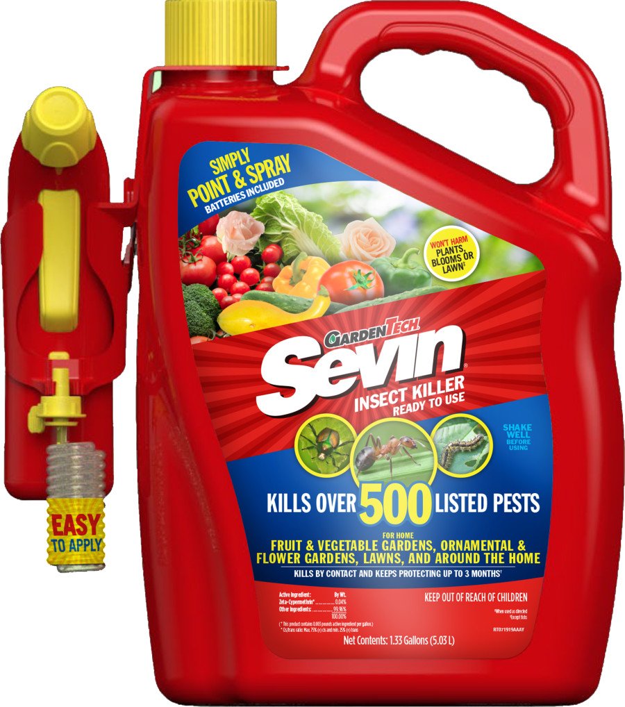 Sevin Insect Killer Battery Powered Sprayer 2ea/1.33 gal