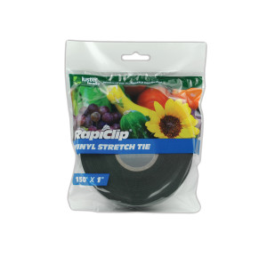 Luster Leaf Rapiclip Vinyl Stretch Tie Tape Green 12ea/150Ftx1 in
