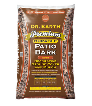 Dr. Earth Medium Patio Bark 1ea/2 cu ft