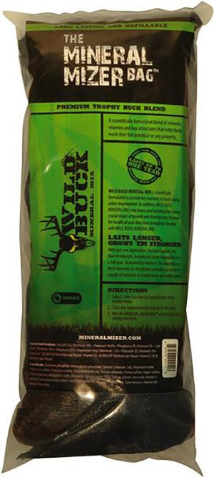 Mineral Mizer Bag Wild Buck Acorn Minerals Blend 10ea/6 lb