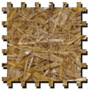Erosion Tech ETRS-2 Erosion Control Blanket Double-Net Straw Green 1ea/7.5Ftx120 ft