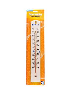 E-Z Read Thermometer White 10ea/15.5 in