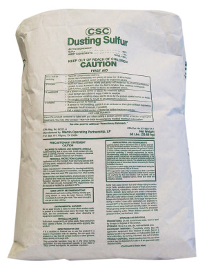 Martin Resources CSC Dusting Sulfur Fungicide Miticide 1ea/50 lb
