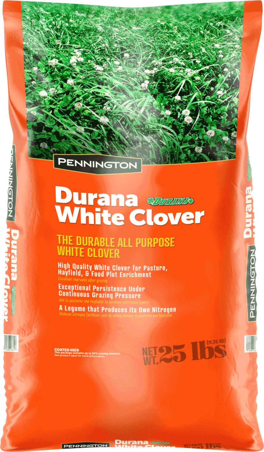Pennington Durana Clover 1ea/25 lb