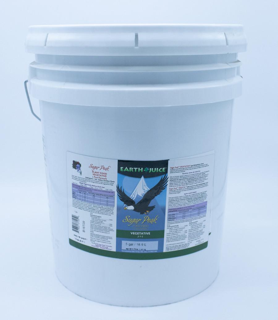 Earth Juice Sugar Peak Vegetative 3-1-5 Rock Phosphate 1ea/5 gal