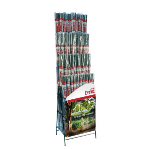 Bond Packaged Bamboo Stake Standing Assorted Display 1ea