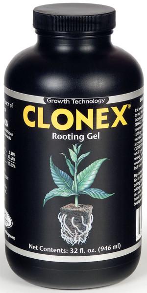 Hydrodynamics Clonex Rooting Gel 4ea/32 fl oz
