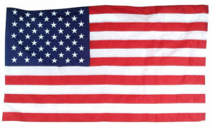 Flag Zone Poly Cotton United States Banner 12ea/2-1/2Ftx4 ft