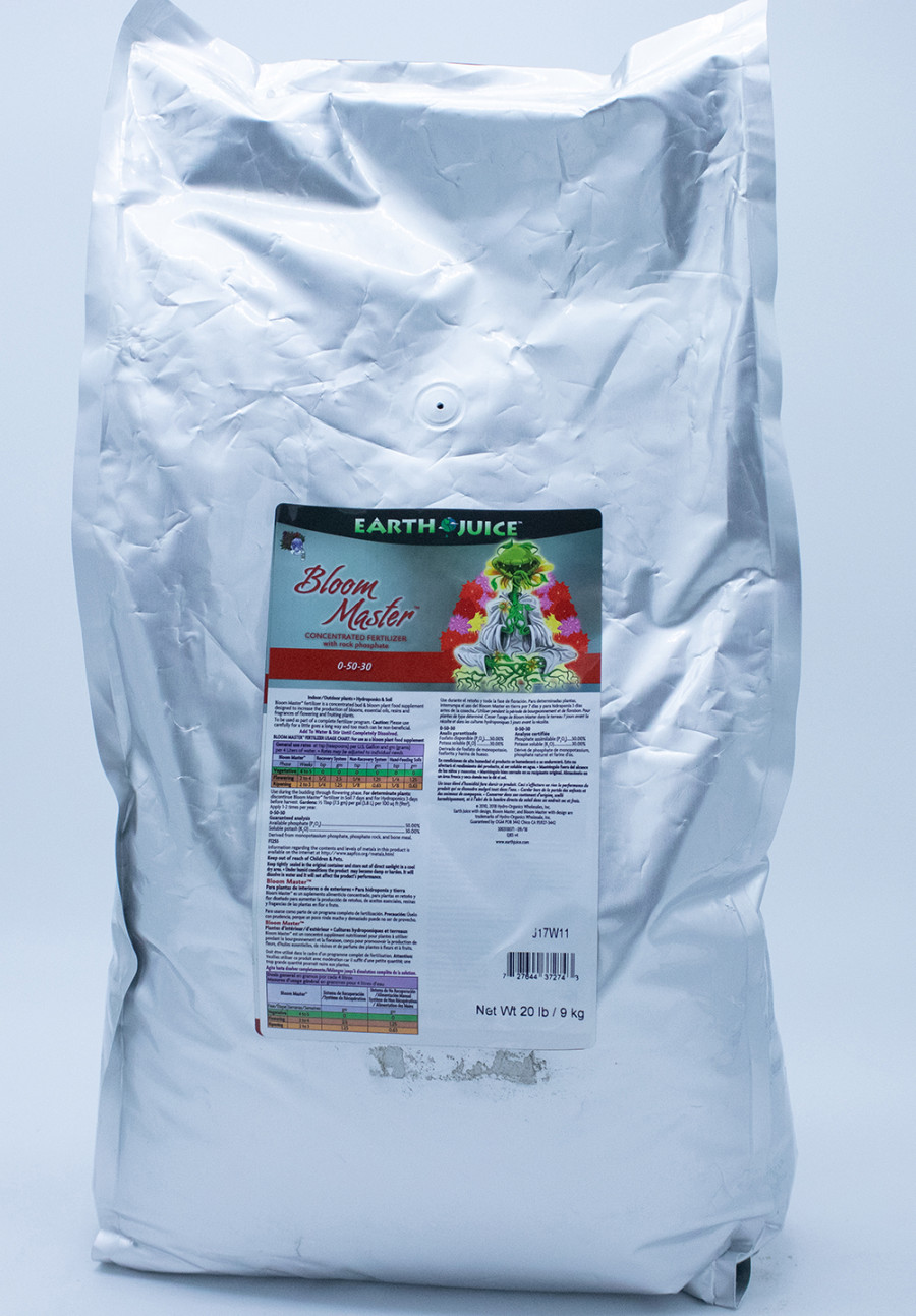 Earth Juice Bloom Master 0-50-30 Rock Phosphate 1ea/20 lb