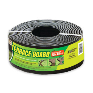 Master Mark Terrace Board Edging Black 1ea/3Inx40 in