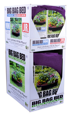 High Caliper Fabric Raised Bed Big Bag Mini Pallet 18ea