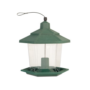Pennington Earth Smart Petite Ecozebo Bird Feeder Green 3ea