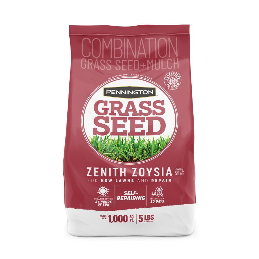 Pennington Zenith Zoysia Grass Seed & Mulch 6ea/5 lb