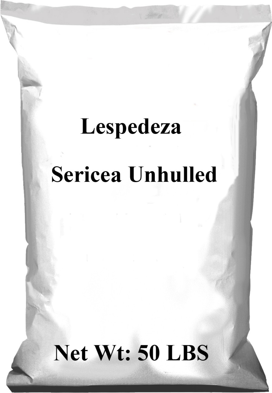 Pennington Lespedeza Sericea Unhulled 1ea/50 lb