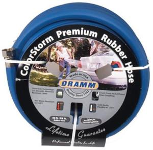 Dramm ColorStorm Premium Rubber Hose Blue 6ea/5/8Inx50 ft
