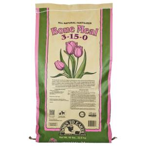 Down To Earth Bone Meal Natural Fertilizer 3-15-0 1ea/3-15-0 50 lb