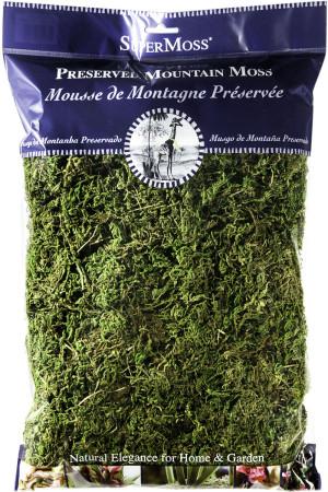 Supermoss Mountain Moss Peserved Fresh Green 10ea/8 oz