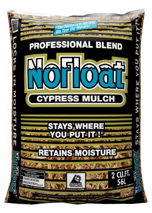 Oldcastle No Float Cypress Mulch Tan 1ea/2Cuft