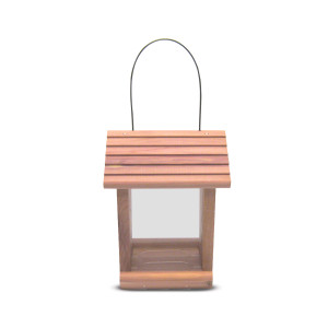 Pennington Cedar Treater Bird Feeder Red, Brown 2ea/7 X 7.25 X 9.25