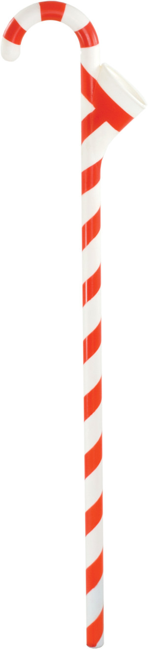 Peak Seasons Christmas Tree Water Cane Funnel Multi-Color 24ea/36 in
