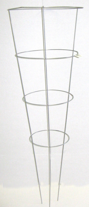 Midwest Wire Works Cage 3-Leg 4-Ring 25ea/14In Top Ring 42 in