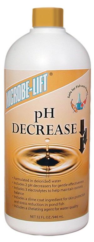 Microbe-Lift pH Decrease 12ea/32 oz